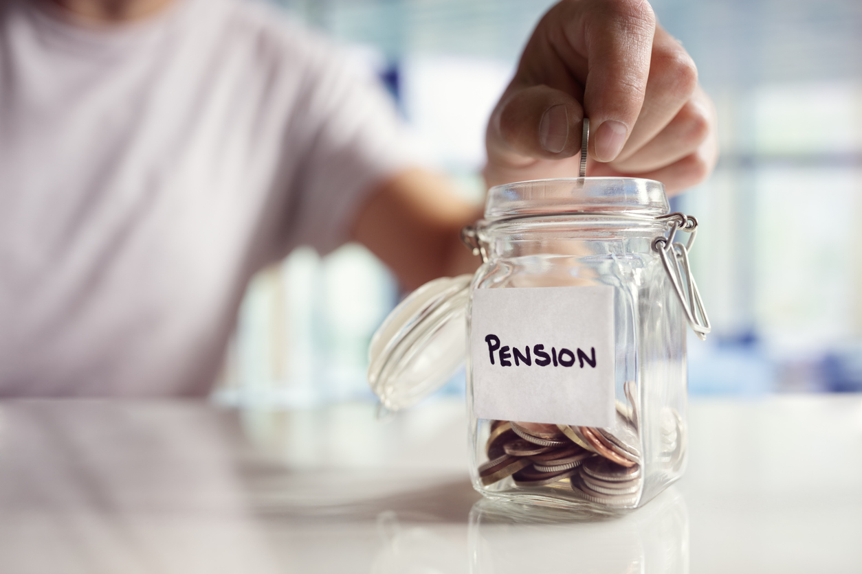 Pension contributions fall in 2020